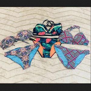 🌻 Lot of 3 Xhilaration Aeropostale Bikinis
